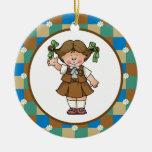 Brownie 1 ornaments para arbol de navidad