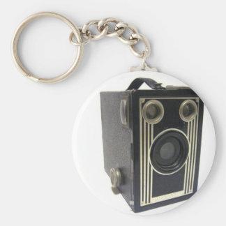 Brownie Antique Camera Keychain