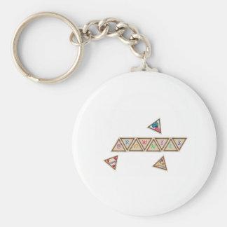 Brownie Badge Keychain