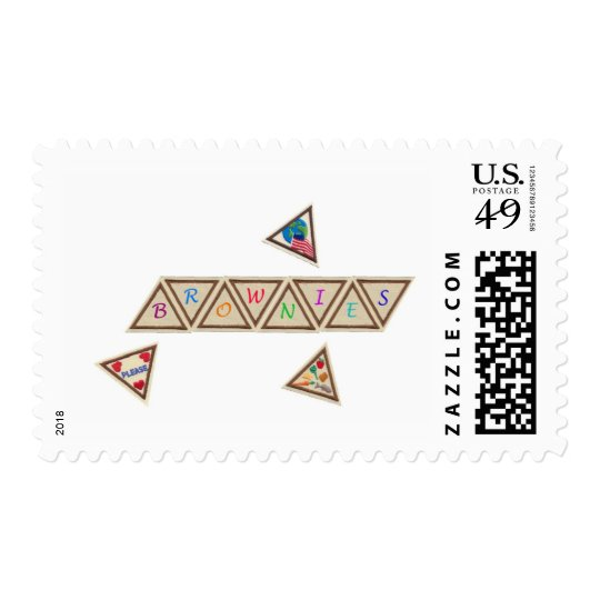Brownie Badge Postage