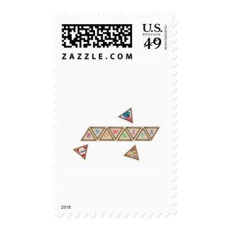 Brownie Badge Postage Stamp