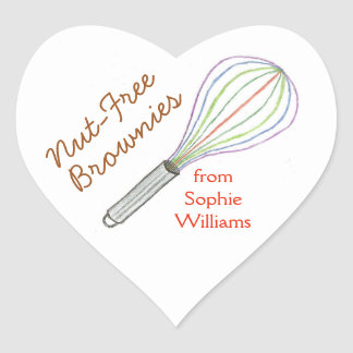 Brownie baking labels / baking stickers