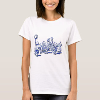 Brownie Band Playing Tuba and Trombone T-Shirt