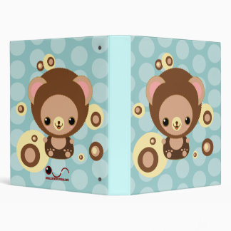 brownie bear circles binder