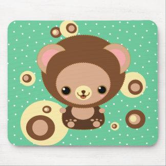 brownie bear mousepad