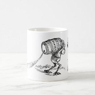 Brownie Carrying Leaky Barrel Coffee Mug