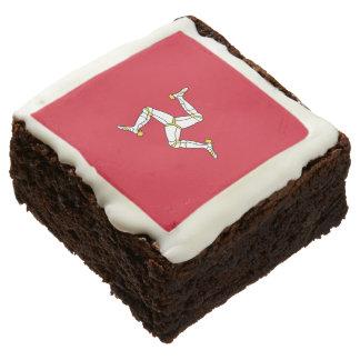 Brownie de la Isla de Man del fiesta de la bandera