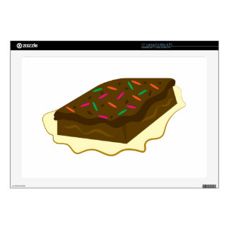 "Brownie Decal For 17"" Laptop"