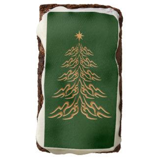 Brownie del árbol de navidad de Bell