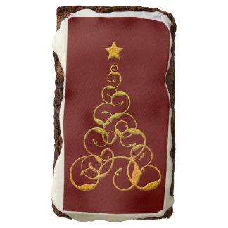 Brownie del árbol del oro