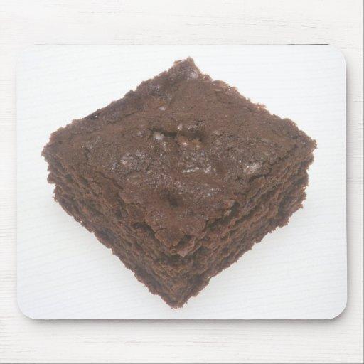 Brownie del chocolate tapetes de raton