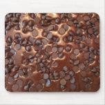 Brownie del microprocesador de chocolate mouse pad