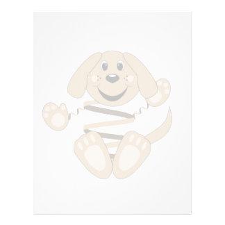 Brownie del perro de Skrunchkin Membrete A Diseño