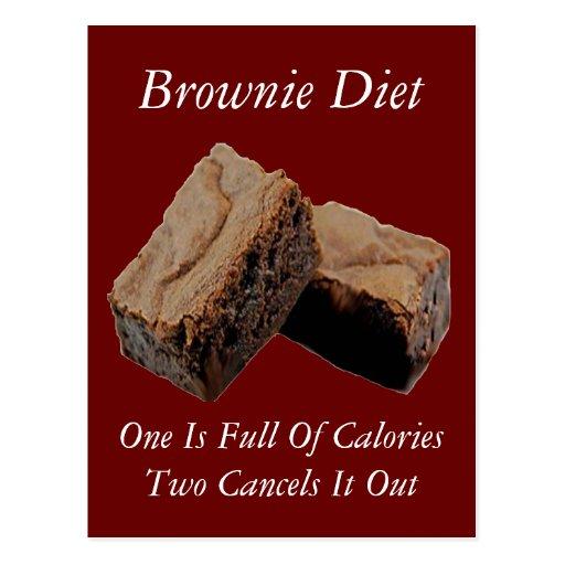 Brownie Diet Card