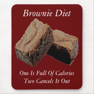 Brownie Diet Mouse Pad