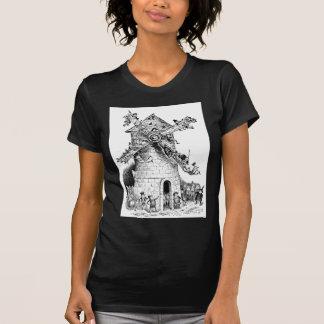 Brownie en un molino de viento en Holanda Camiseta
