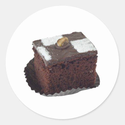 Brownie Etiqueta