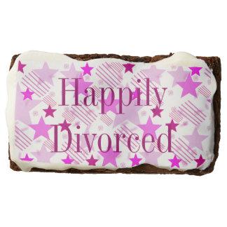 Brownie feliz divorciado