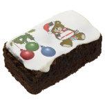 Brownie festivos docena de las Felices Navidad