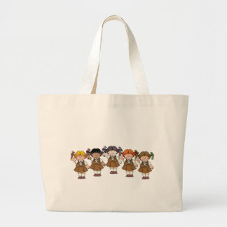 Brownie Group Large Tote Bag