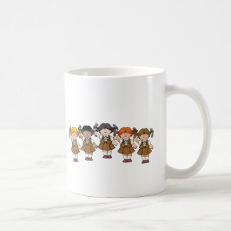 Brownie Group Classic White Coffee Mug