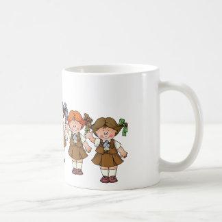 Brownie Group Classic White Coffee Mug