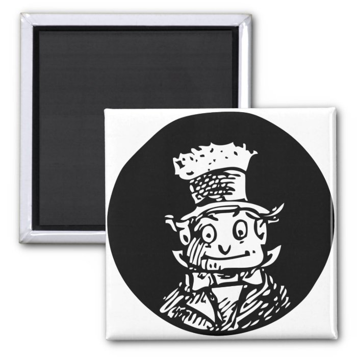 Brownie Hobo 2 Inch Square Magnet