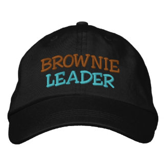 BROWNIE LEADER EMBROIDERED BASEBALL HAT