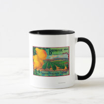 Brownie Pear Crate LabelCashmere, WA Mug