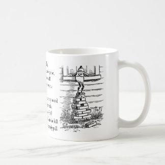 Brownie Peering in Window Classic White Coffee Mug