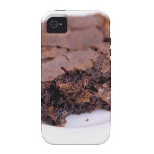 Brownie sabroso vibe iPhone 4 fundas