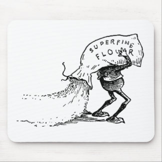 Brownie Spilling Flour Mouse Pad