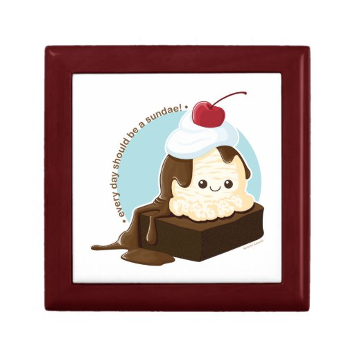 Brownie Sundae Gift Boxes