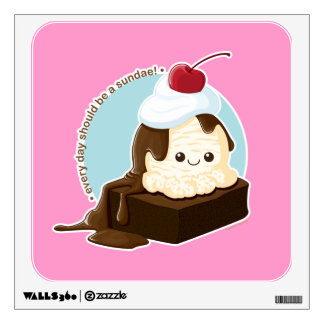 Brownie Sundae Wall Decal