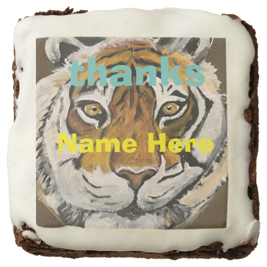 Brownie Tai Chi Tiger Personalized