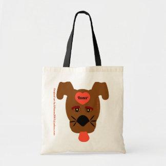 """Brownie"" the Dog Tote Bag"