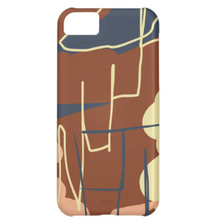 Brownie Town Colors Cover For iPhone 5C