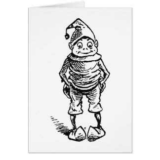 Brownie with Hands in Pockets Card
