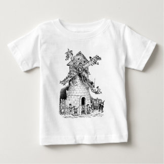 Brownies at a Windmill in Holland Baby T-Shirt