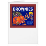 Brownies Brand California Oranges Card