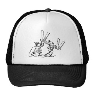 Brownies Carrying Sawhorse Trucker Hat