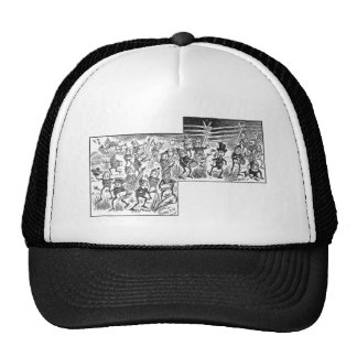 Brownies Catching Grasshoppers Trucker Hat