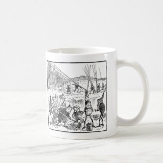 Brownies Dig for Bait Coffee Mug