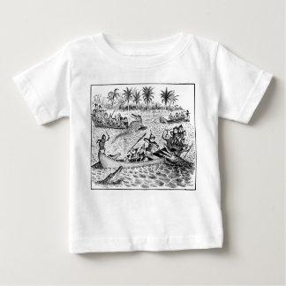 Brownies Fighting Alligators Baby T-Shirt