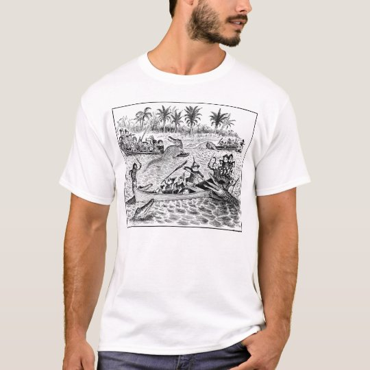 Brownies Fighting Alligators T-Shirt