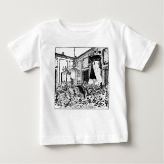 Brownies in White House Bed of State Baby T-Shirt