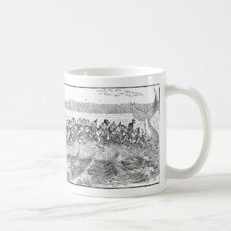 Brownies on Sinking Whale Coffee Mug