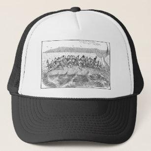 cfa3fce6fbe Brownies on Sinking Whale Trucker Hat