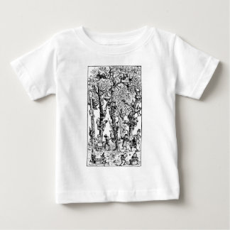 Brownies picking apples in orchard baby T-Shirt