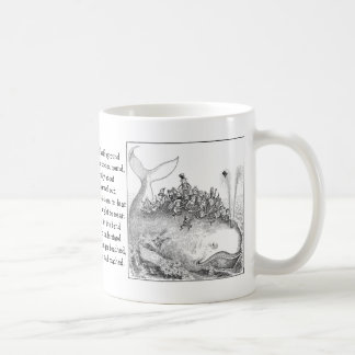 Brownies Riding a Whale Coffee Mug
